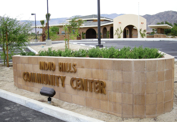 Indio Hills Community Center 171 Nuway Masonry